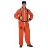 Astronaut Suit Adult Orange Large